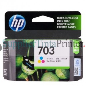 HP 703 Colour Ink Cartridge