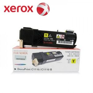 Toner Fuji Xerox DocuPrint CT201117 Yellow