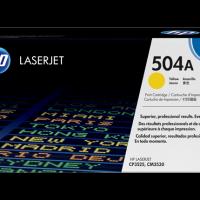 HP 504A Yellow Toner [CE252A]