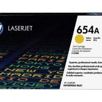 HP 654A Yellow Original LaserJet Toner (CF332A)
