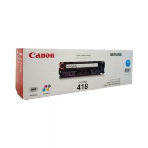 Toner Canon 418 Cyan