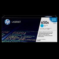 HP 650A Cyan LaserJet Toner (CE271A)